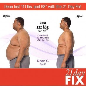 21 Day fix - Deon