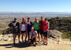 Hiking South Mountain - Holbert Trail