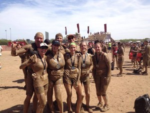 Warrior Dash muddy